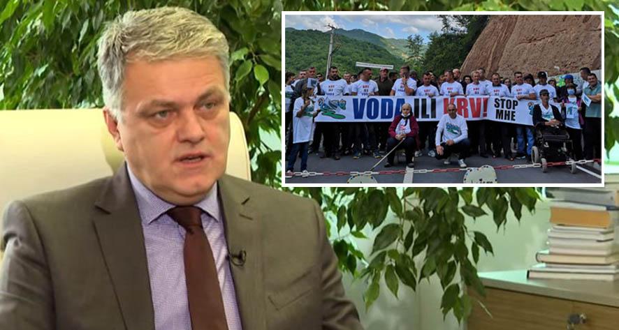 Direktor Elektroprivrede vrijeđa goste, učesnike protesta naziva stranim plaćenicima i prijeti građanima Konjica???