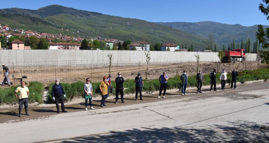 Tužilaštvo BPK zaključilo da u bespravnom izdavanju dozvola i gradnji zida na obali Drine, u Goraždu, nema elemenata krivičnog djela